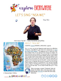 """Teach Kids About Africa -- Let's Sing """"Nsa We"""" -- All Around This World"""