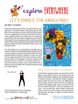 "Teach Kids About Africa – ""Uganda's Royal Dance"" -- All Around This World"