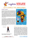 """Teach Kids About Africa – """"Uganda's Royal Dance"""" -- All Around This World"""