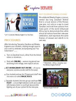 """Teach Kids About Africa -- """"Zanzibar's New Year"""" -- All Around This World"""