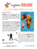 "Teach Kids About Africa -- ""Zanzibar's New Year"" -- All Ar"
