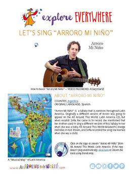 "Teach Kids About Argentina by Singing ""Arroro Mi Nino"" -- All Around This World"