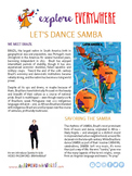 "Teach Kids About Brazil – ""Dance a Simple Samba"" -- All Ar"