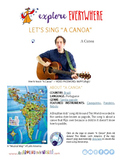 """Teach Kids About Brazil -- Let's Sing """"A Canoa"""" -- All Around This World"""