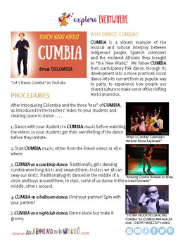 "Teach Kids About Colombia – ""Let's Dance Cumbia"" -- All Around This World"