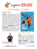 """Teach Kids About Colombia – """"Let's Dance Cumbia"""" -- All Around This World"""