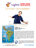 """Teach Kids About Cuba -- Let's Sing """"Cachumbambe"""" -- All A"""