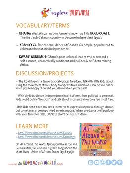 "Teach Kids About Ghana – ""Dance the Kpanlogo"" -- All Around This World"