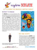 "Teach Kids About Kenya – ""Jump High with the Maasai"" -- Al"
