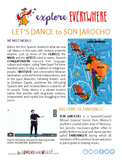 "Teach Kids About Mexico -- ""Son Jarocho Dancing"" -- All Ar"