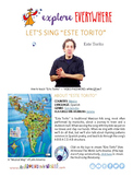 "Teach Kids About Mexico -- Let's Sing ""Este Torito"" -- All Around This World"