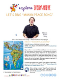 """Teach Kids About Mexico -- Let's Sing """"Mayan Peace Song -- All Around This World"""