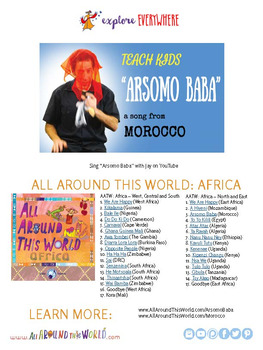 "Teach Kids About Morocco -- Let's Sing ""Arsomo Baba"" -- All Around This World"