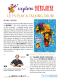 "Teach Kids About Nigeria – ""Let's Talk Like a Drum"" -- All Around This World"