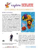 """Teach Kids About South Africa – """"Learn Gumboot Dancing"""" -- All Around This World"""