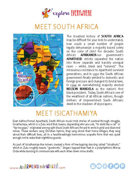 """Teach Kids About South Africa by Singing """"Thinantsha"""" -- All Around This World"""