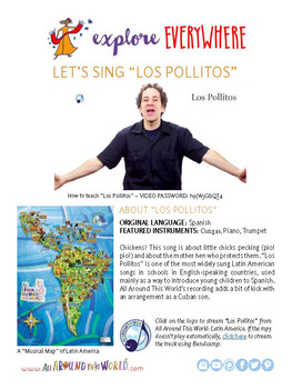 "Teach Kids About South America -- Sing ""Los Pollitos"" -- All Around This World"