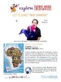 "Teach Kids About Zimbabwe -- Let's Sing ""Wai Bamba"" -- All"