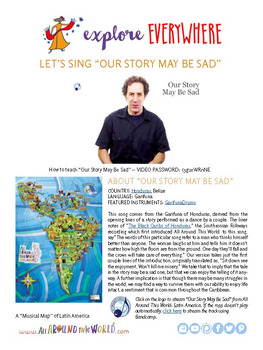 """Teach Kids About the Garifuna -- """"Our Story May Be Sad"""" -- All Around This World"""