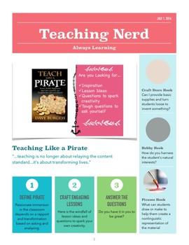 Teach Like a Pirate- Book Study