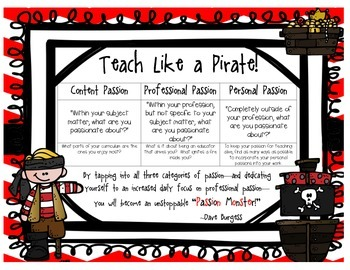 Teach Like a Pirate---Passion