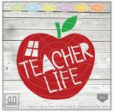 Teacher Life SVG - Teacher svg - Teach svg - School Svg -