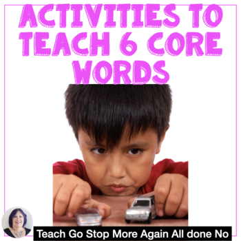 Teach Me 6 Core Words Activities and Strategies for Beginning AAC Users Autism