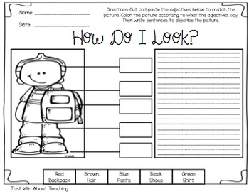 how to teach adjectives to grade 4