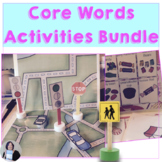 AAC Teach Me Core Vocabulary BUNDLE Activities and Games for Teaching Core Words