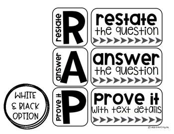 RAP Writing Strategy