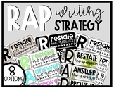 RAP Writing Strategy