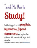 Teach Me How to Study: Note Taking Beyond Cornell Notes for all subjects