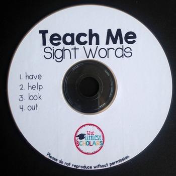 Teach Me Sight Words CD [Interactive Listening Center]