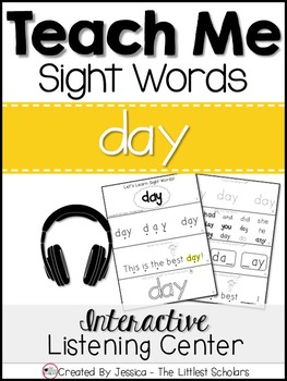 Teach Me Sight Words: DAY [Interactive Center with Printab