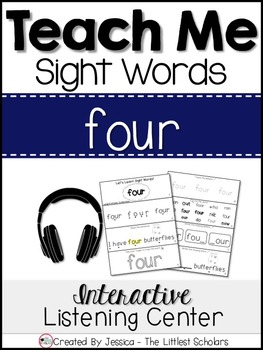 Teach Me Sight Words: FOUR [Interactive Center with Printa