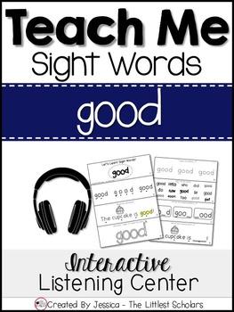 Teach Me Sight Words: GOOD [Interactive Center with Printa