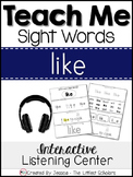 Teach Me Sight Words: LIKE [Interactive Center with Printa