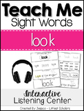 Teach Me Sight Words: LOOK [Interactive Center with Printa