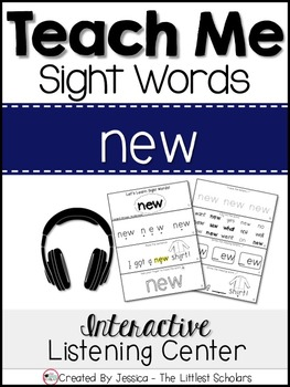 Teach Me Sight Words: NEW [Interactive Center with Printab