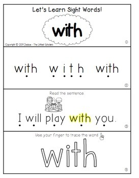 Teach Me Sight Words: WITH [Interactive Center with Printables and Audio]