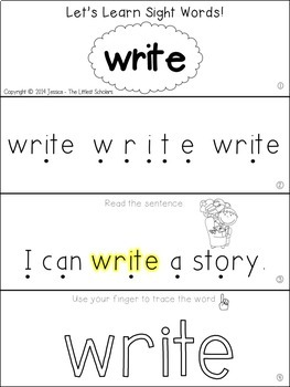 Teach Me Sight Words: WRITE [Interactive Center with Printables and Audio]