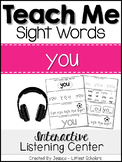 Teach Me Sight Words: YOU [Interactive Center with Printab