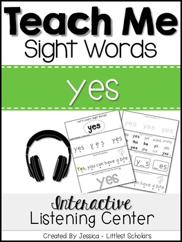 Teach Me Sight Words: YES [Interactive Center with Printab