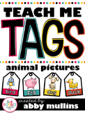 Teach Me Tags: Animals