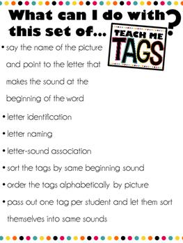 Teach Me Tags: Beginning Sound Match