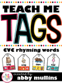 Teach Me Tags: CVC Rhyming Words