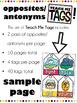 Teach Me Tags: Opposites/Antonyms