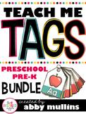 Teach Me Tags: Preschool & Pre-K Bundle