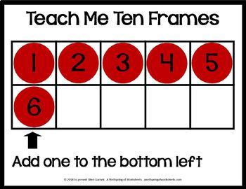 Teach Me Ten Frames - Counting to 10