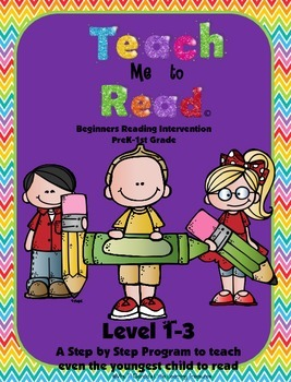 Teach Me To Read Early Readers Program